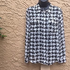 *I•N•C International Concepts* Houndstooth Shirt